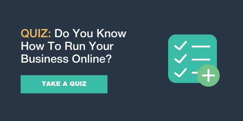 How to run business online quiz