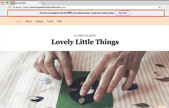 wix.com ads