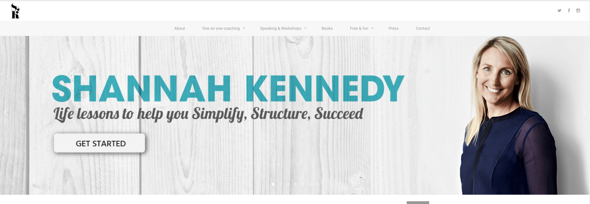 Shannah Kennedy Website